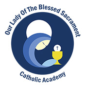Our Lady of the Blessed Sacrament Catholic Academy logo